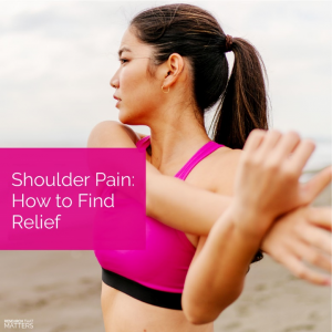 Your shoulder is the most unstable and moveable joint in your body. If you have shoulder pain, here is how you can find relief.